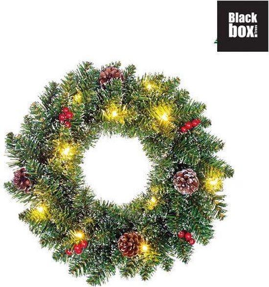 Black Box Trees Creston Kerstkrans – 35 cm