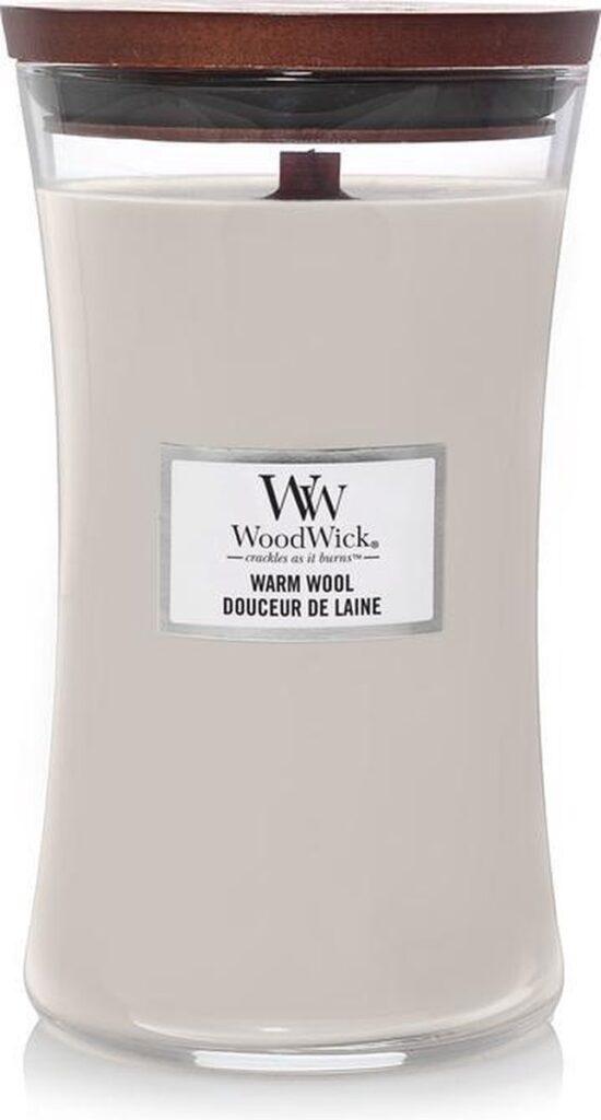 Woodwick Hourglass Large Geurkaars